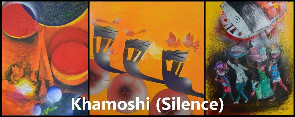 Khamoshi (Silence)- Art by Sanjeev ShashwatiKhamoshi (Silence)- Art by Sanjeev Shashwati