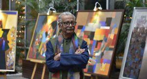 Artist and Professor Niren Sengupta