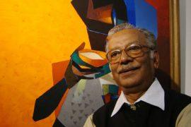 Professor and Artist Niren Sengupta