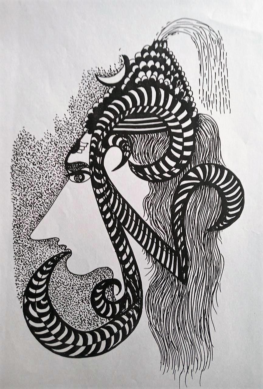 Shiva art by Narendra Kumar Verma | IndiGalleria