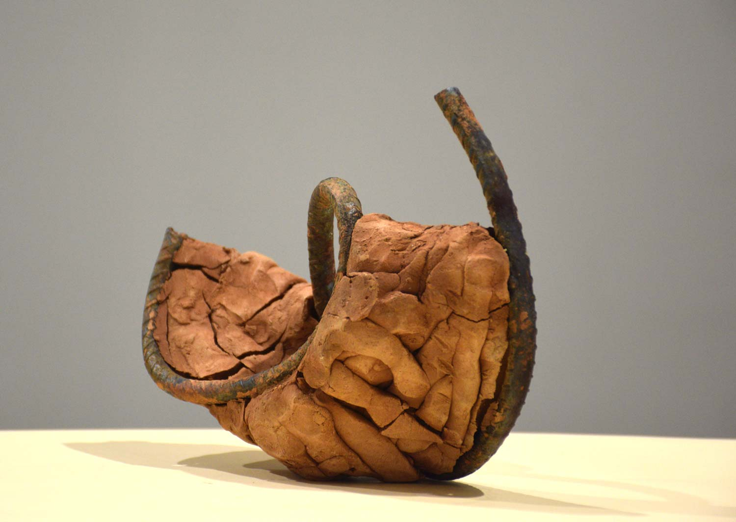 "Contemporary Sculpture with Clay""Untitled"" art by Vikas Kumar Yadav"